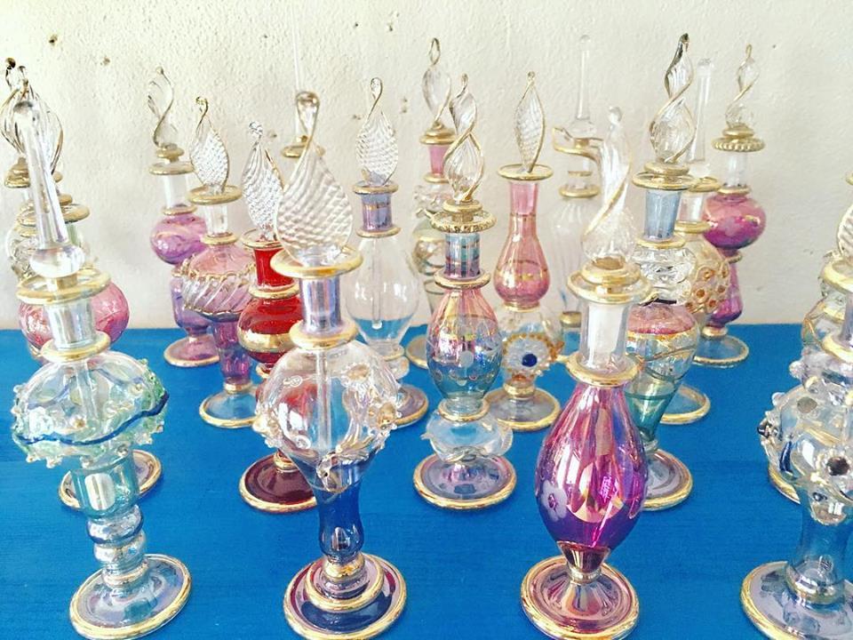 エジプトの香水瓶